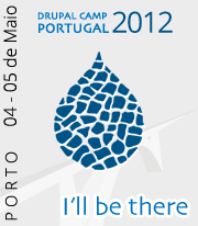 I'll be there | DrupalCamp Porto 2012
